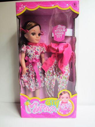 Кукла с комплект дрехи 40 см